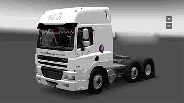 Marks and Spencer DAF CF skin