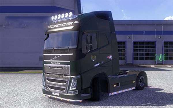Military skin Volvo FH16