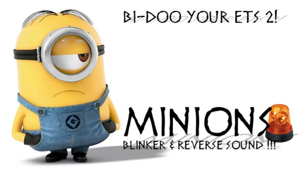 Minion Bi Doo indicator and reverse sounds