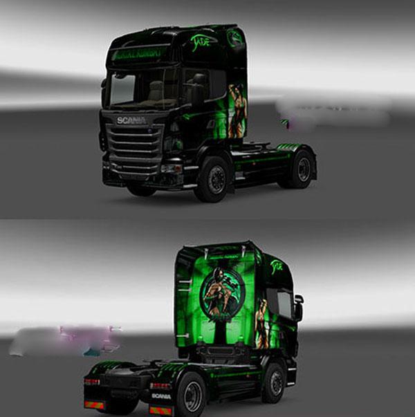 Scania Mortal Kombat Jade Skin