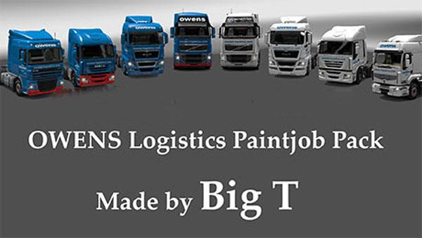 OWENS Logistics Paintjob Pack