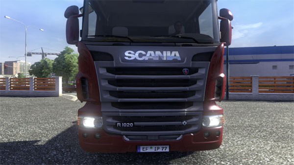 R1020hp Scania V8 Engine With Badge