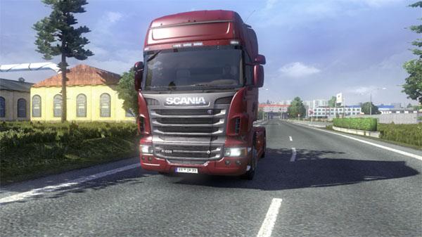 R1020hp Scania V8 Engine With Badge V 1 0