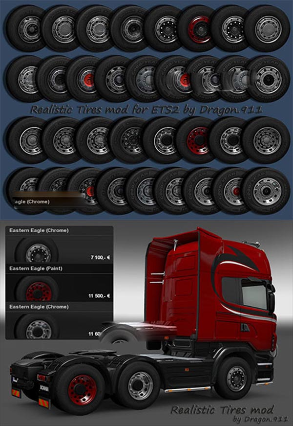 Realistic Tires