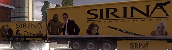 SIRINA trailer skin Greek