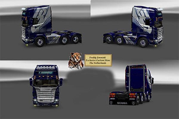 Scania 6×2 4 T. Edberg skin
