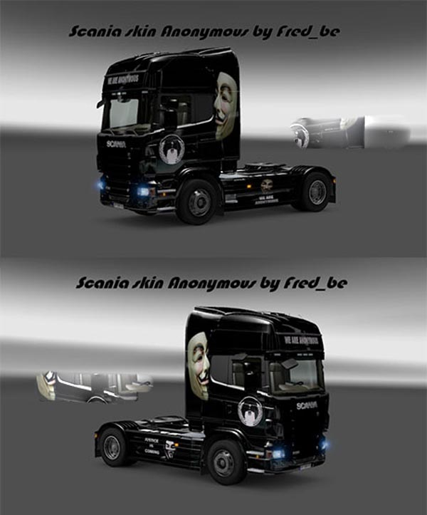 Scania Anonymous skin