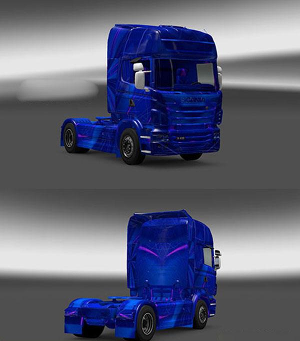 Scania Blue Skin