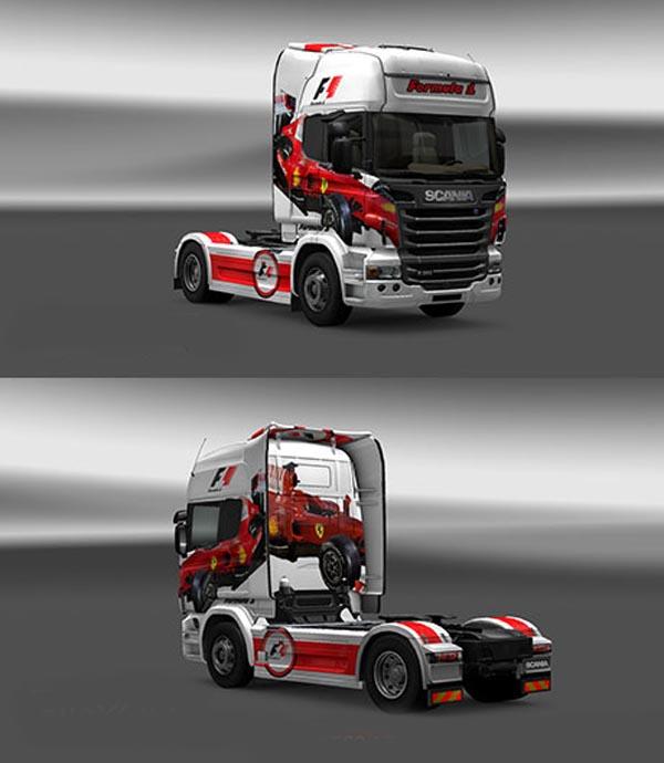 Scania Formula 1 Skin