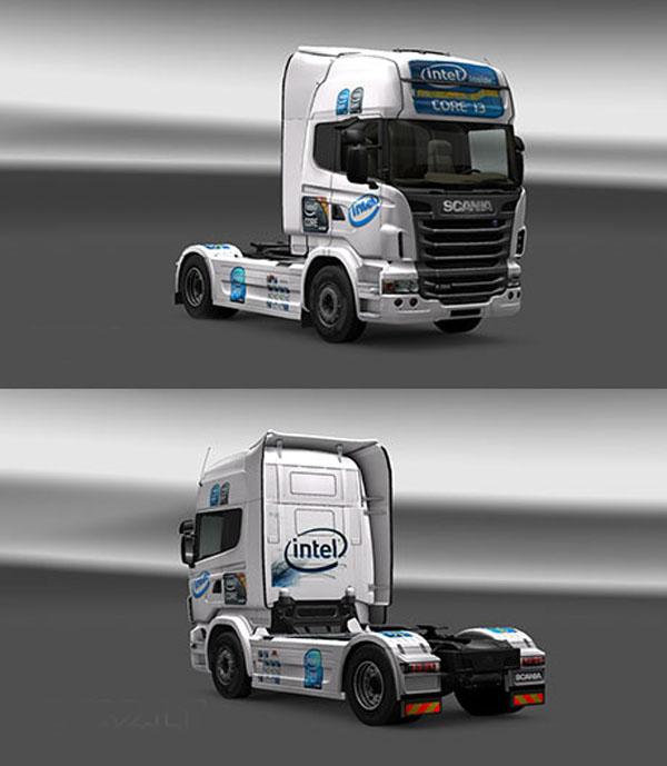 Scania Intel Skin