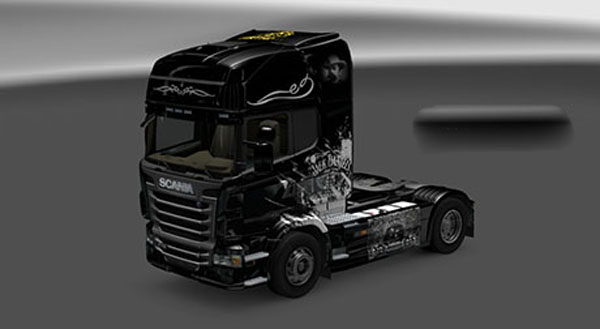 Scania Jack Daniels Birthday Skin