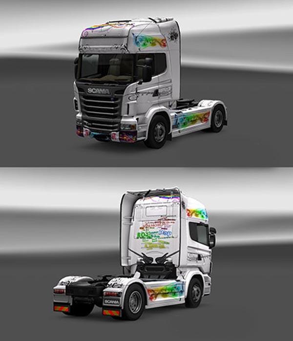 Scania Music Skin