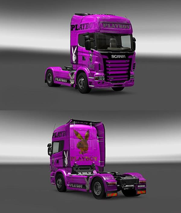 Scania Playboy Skin