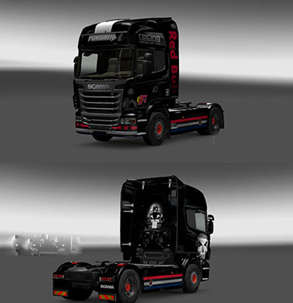 Scania Punisher Skin