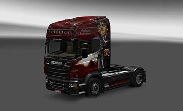 Scania Scarface Skin