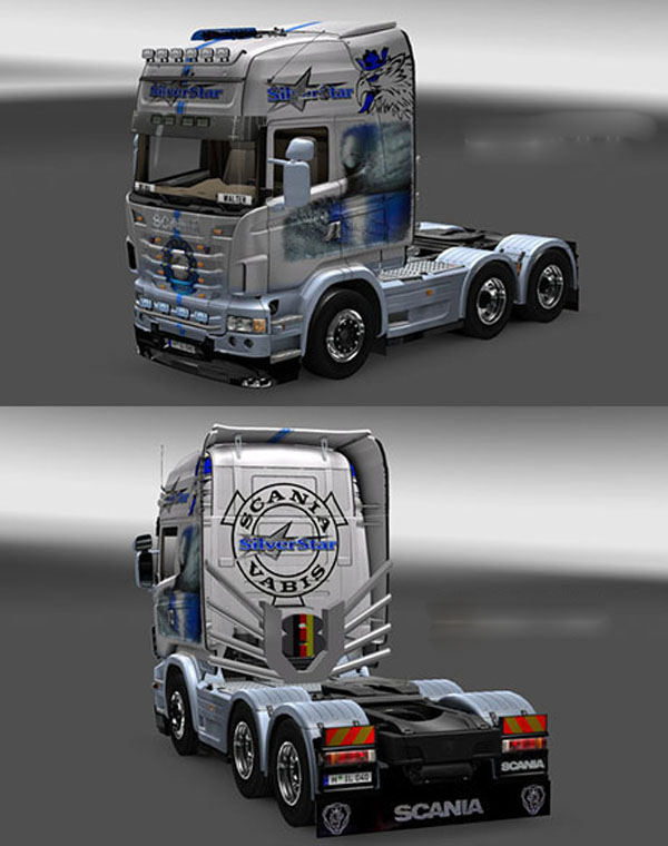 Scania Sylver Star Skin