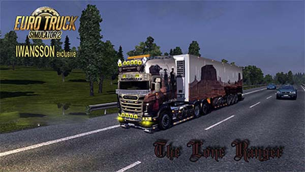Scania- The Lone Ranger + Trailer