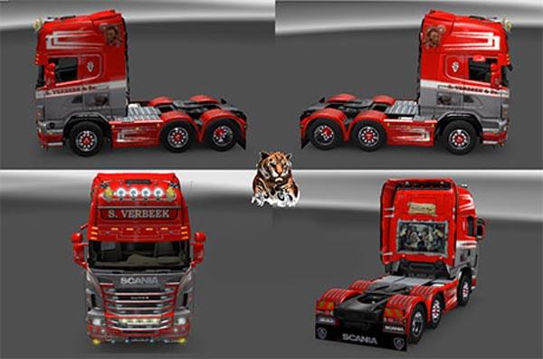 Scania Verbeek skin