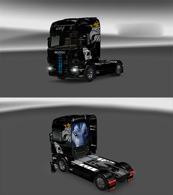 Scania Wolf 2 skin