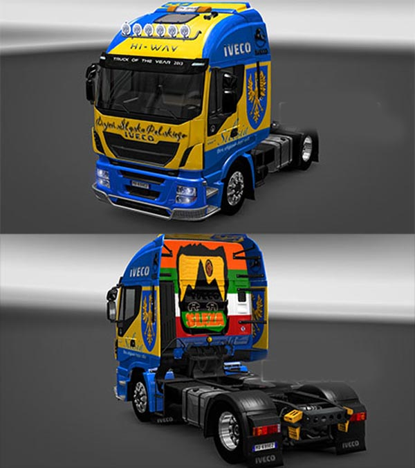 Silesia Iveco Highway skin