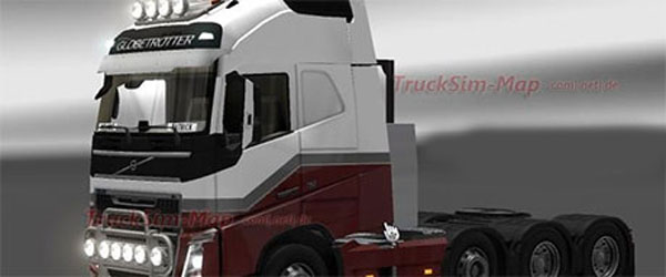 Volvo FH 16 2012 with 8×2 Chassis v1.0