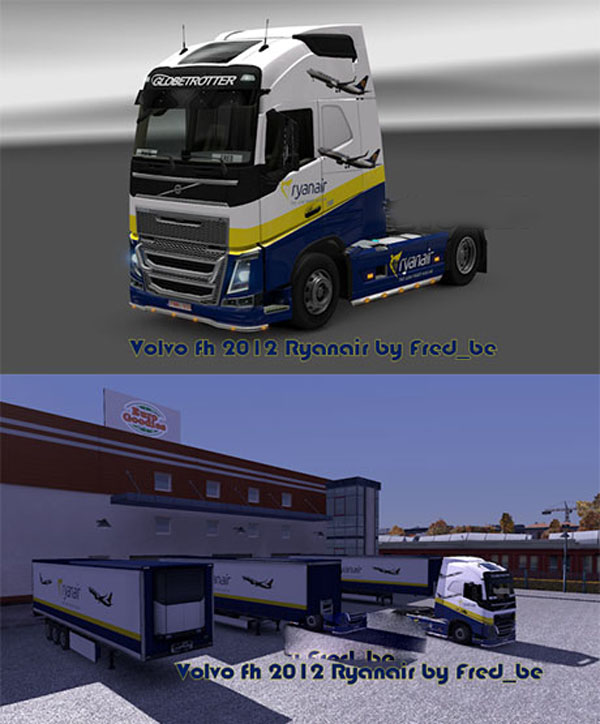 Volvo FH 2012 + Trailers Ryanair image