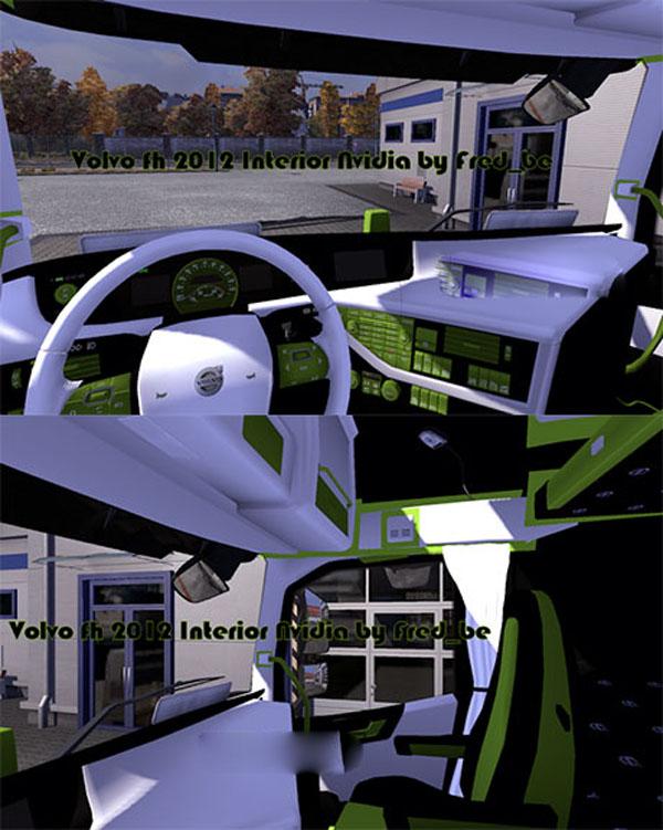Volvo FH 2012 Interior Nvidia