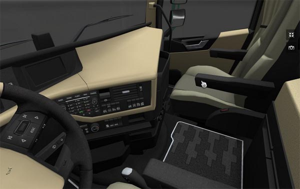 Volvo FH16 2012 – HD Interior
