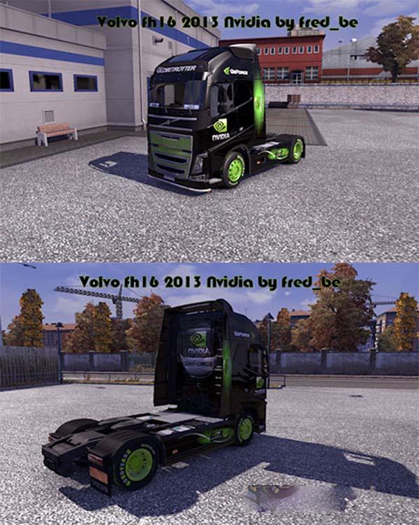 Volvo FH16 2013 Nvidia skin image