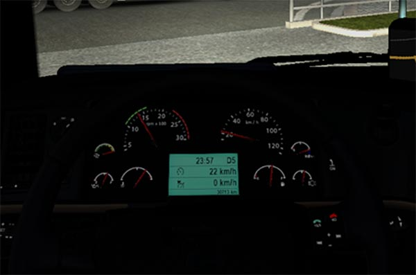 Volvo FH16 Speed on display v 1.1