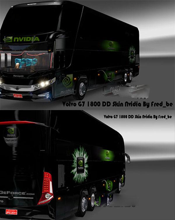 Volvo G7-1800 skin Nvidia
