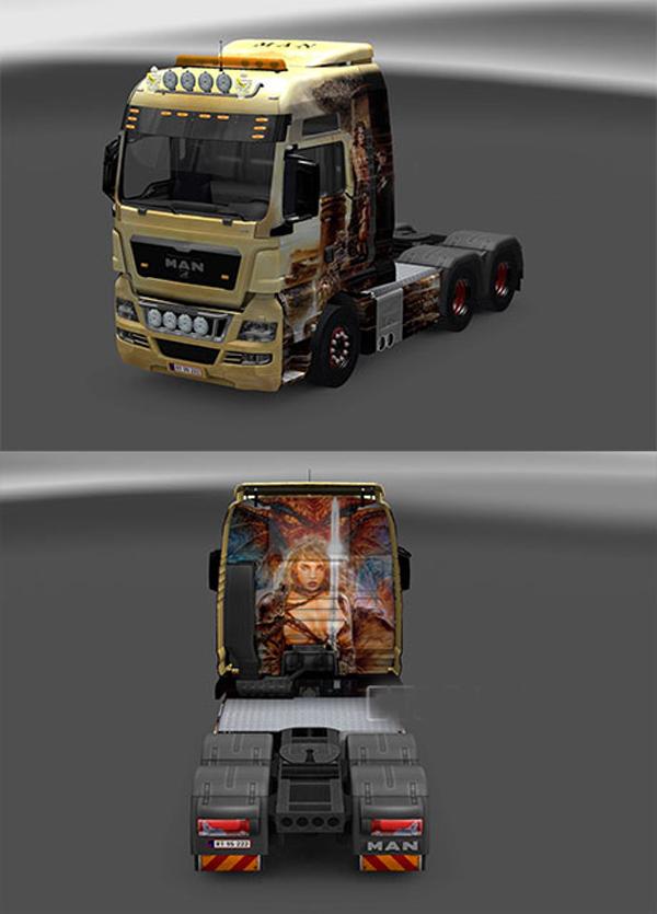 Volvo, MAN skin image