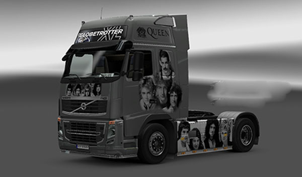 Volvo Queen Skin