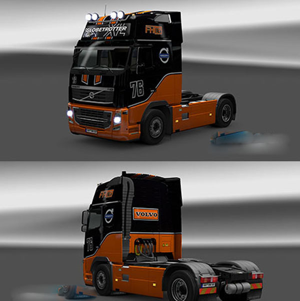 Volvo Racing Team Skin