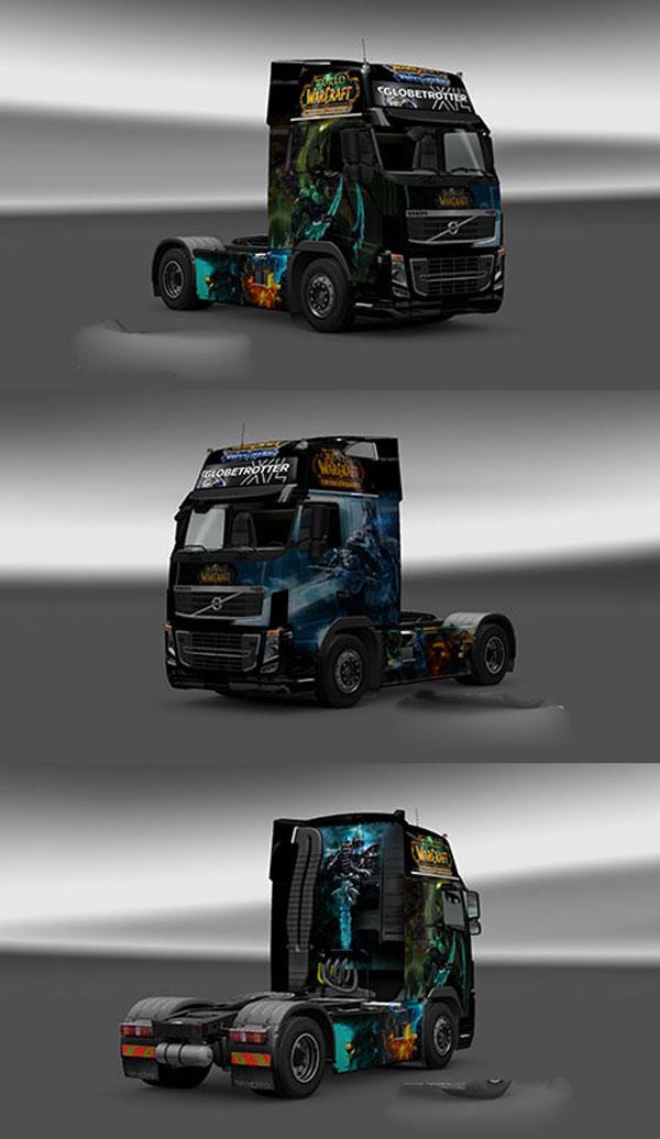 Volvo WOW skin