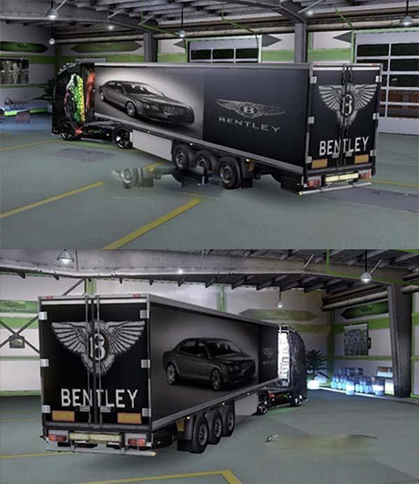 Bentley trailer