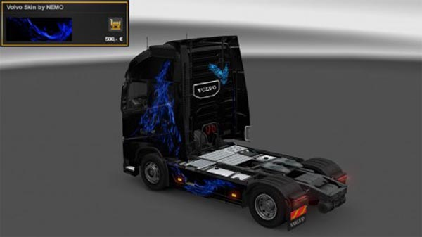 Blue Fire Skin for Volvo FH-2012