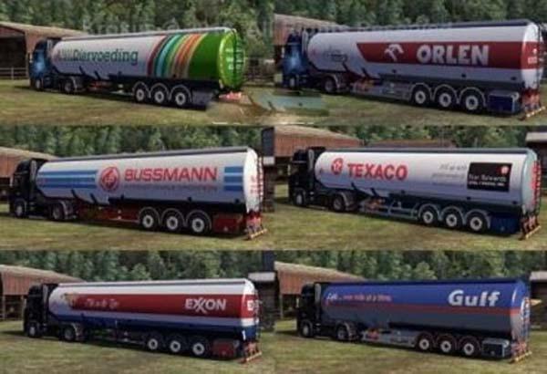 Cistern trailers