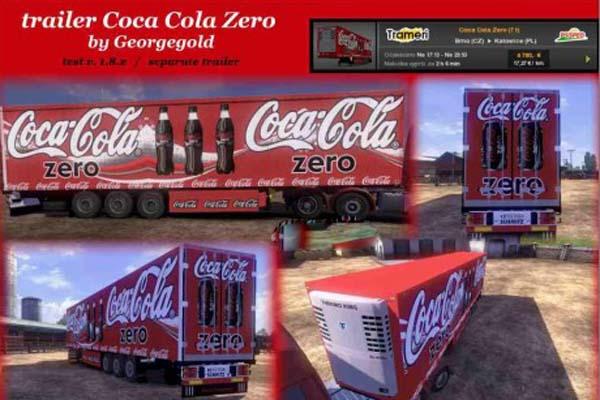 Coca Cola Zero Trailer