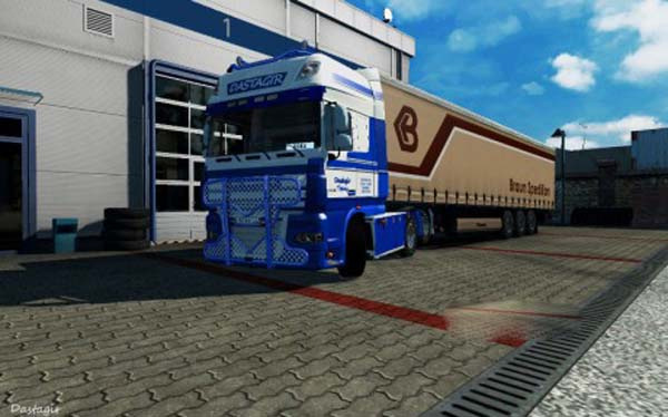 DastagirTrans skin for DAF XF