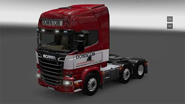 Downton Transport Scania Streamline
