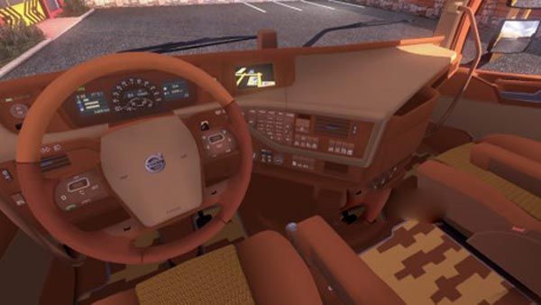 FH16 2012 brown interior