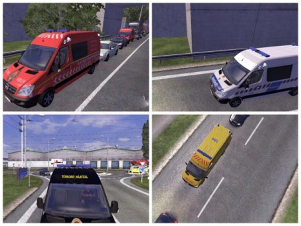 Hungarian Skin Package for Mercedes Sprinter