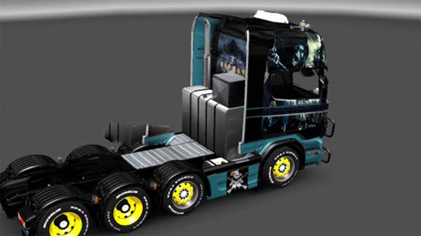 Iron maiden skin for Scania