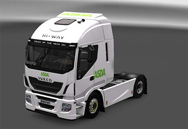 Iveco Hi-Way ASDA Skin