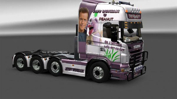 Jeff Dunham & Peanut skin for Scania