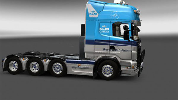 KLM skin for Scania