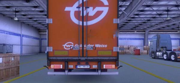 Krone Coolliner Back Lights