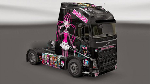Monster skin for Volvo