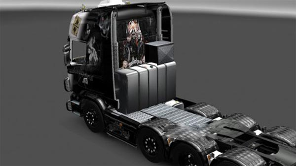 Motorhead Lemmy skin for Scania